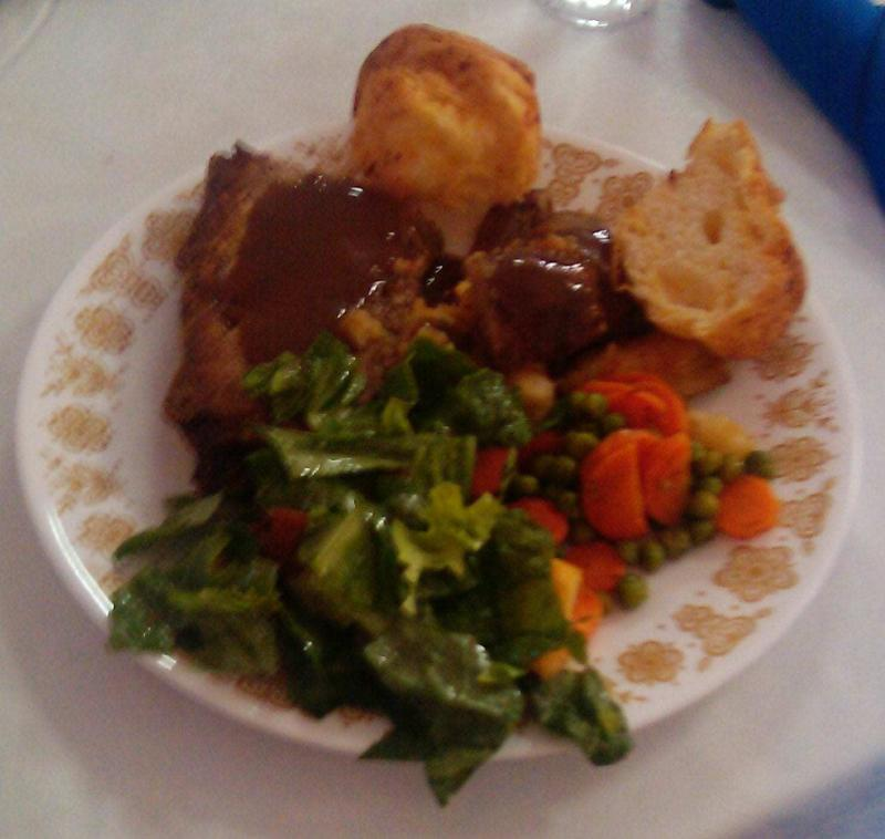 Manitoba Fall suppers offer great plates full of food.