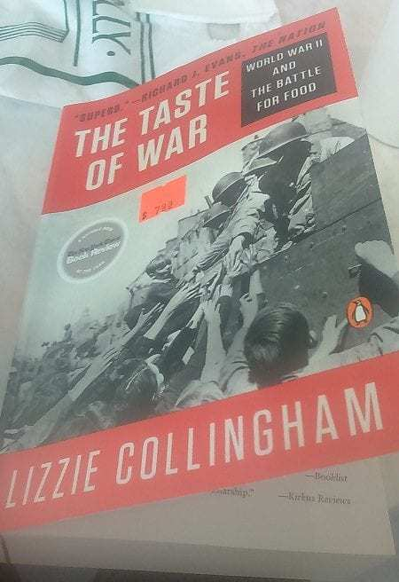 Lizzie Collingham book cover