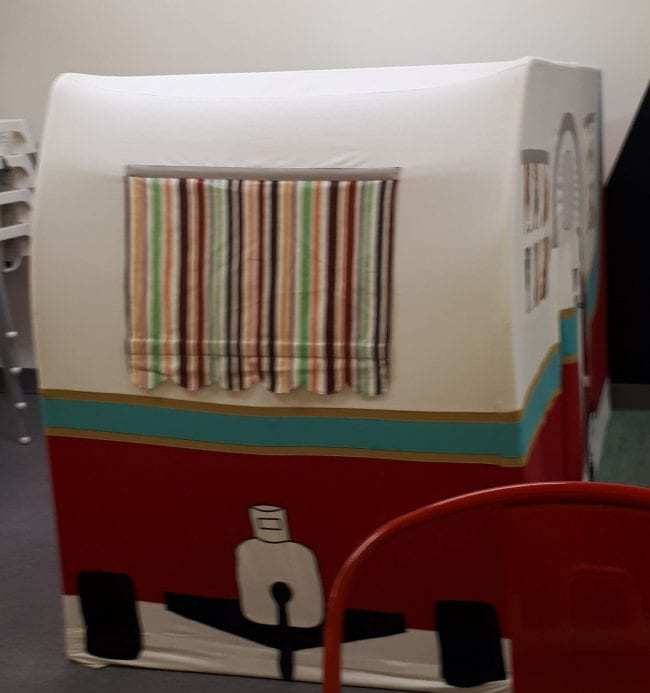 Scout Coffee trailer.