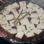 Clergy Conference carrot cake.