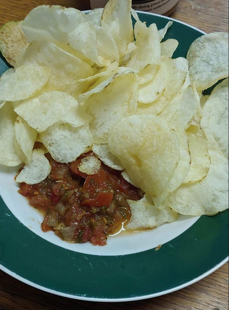 Third chips and salsa