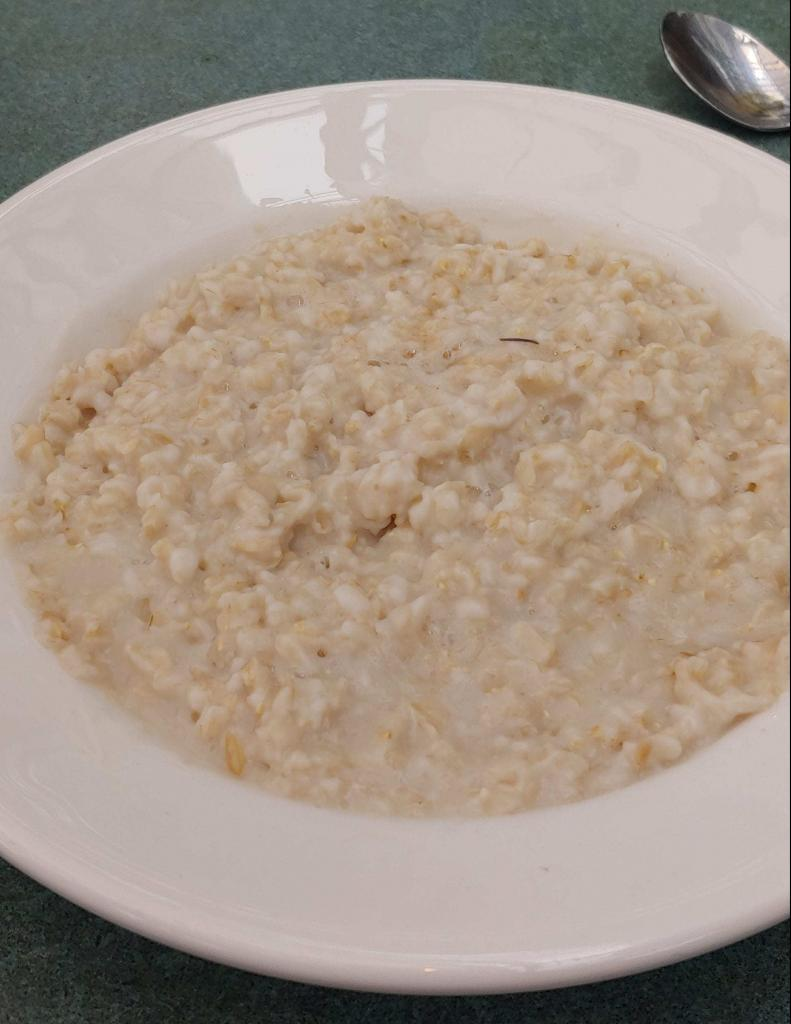Oatmeal for lunch