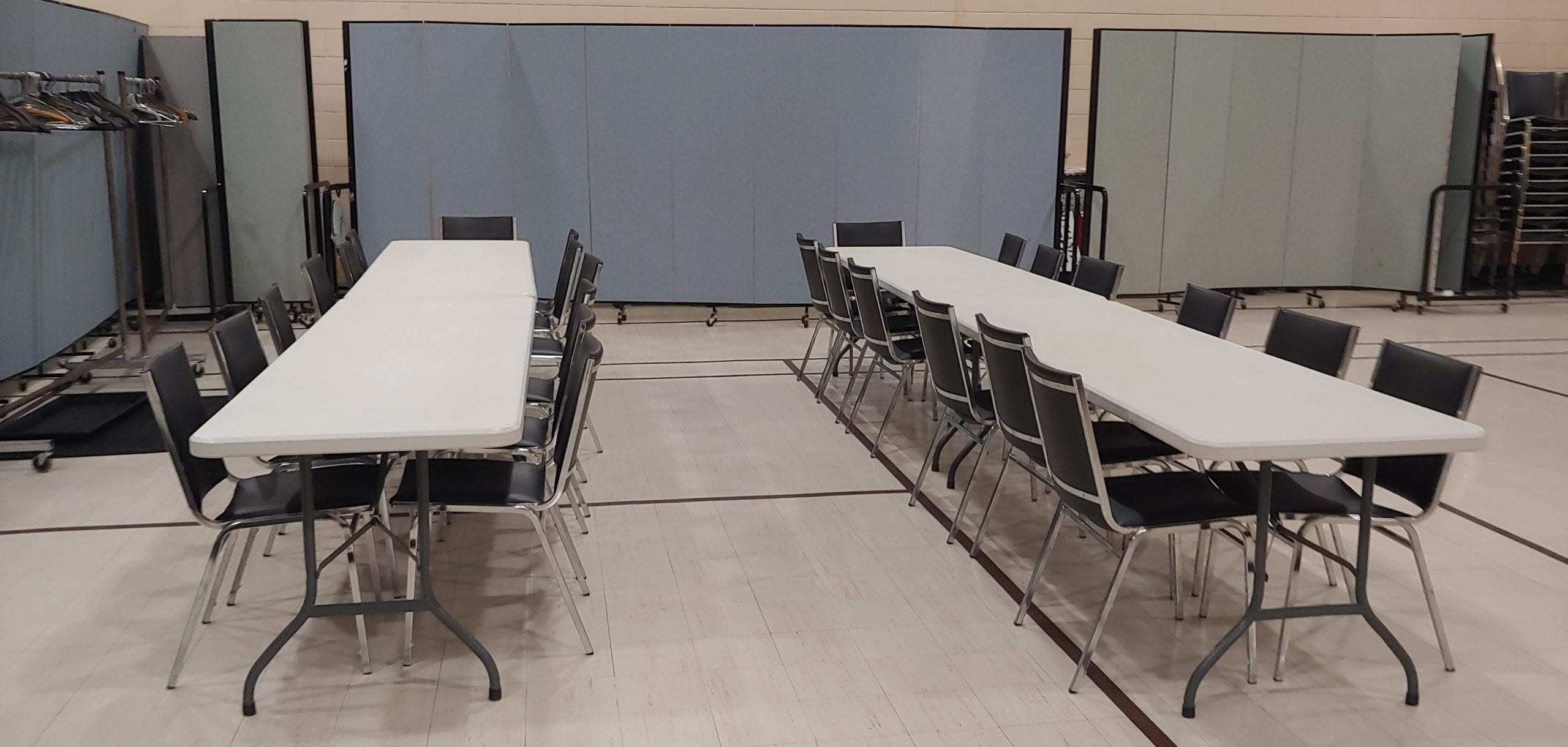 Tables for chat with the Priest Missioner