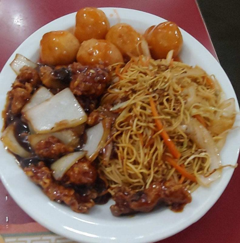 New Asia Combo plate