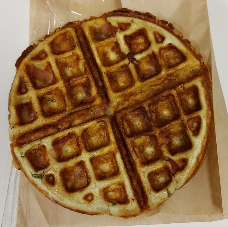 Modern Electric Lunch Savoury Waffle.