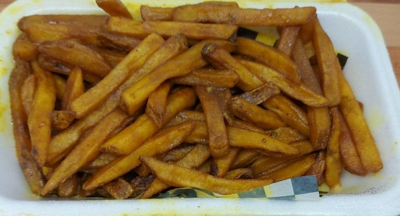 King's Head curry fries